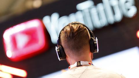 YouTube auf der dmexco 2019 Fachmesse für digitales Marketing und Werbung auf der Koelnmesse.