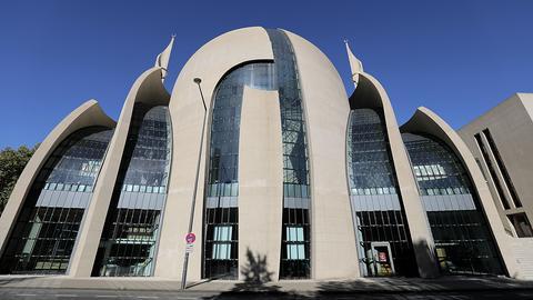 Die Moschee der Ditib in Köln