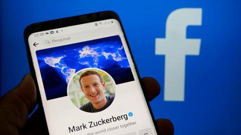 Das Profil des Facebook-Gründers Mark Zuckerberg