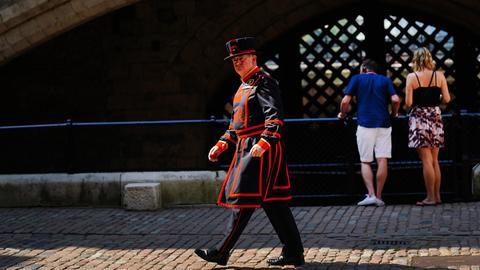 Wärter des Tower of London