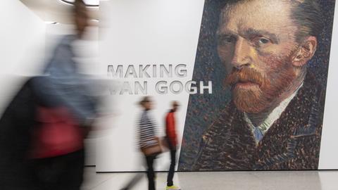 """Ausstellung """"Making van Gogh"""""""