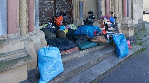 Obdachlose in Koblenz