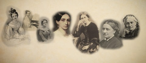 Clara Schumann (Collage)