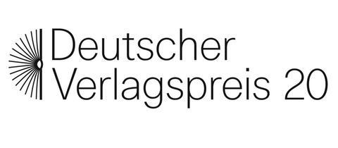 Logo des deutschen Verlagspreises 2020