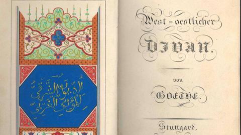 West-östlicher Divan, Originalausgabe