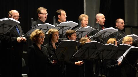 Das SWR-Vokalensemble auf den Donaueschinger Musiktagen