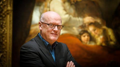 Der Kunsthistoriker Gregor Weber