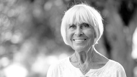 Barbara Rütting schwarz-weiß
