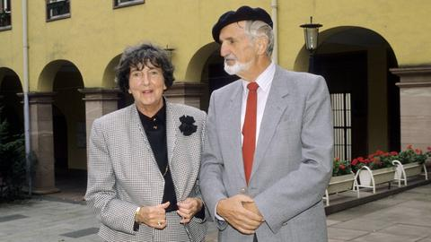 Christine Brückner mit ihrem Ehemann Otto Heinrich Kühner