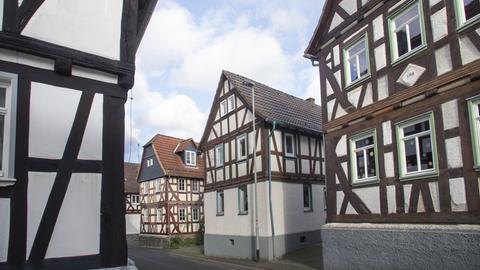 Das Dorf Freienseen im Vogelsberg