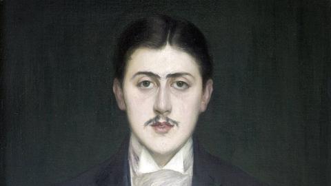 Marcel Proust, Ölgemälde von  Jacques Emile Blanche, Musée d'Orsay