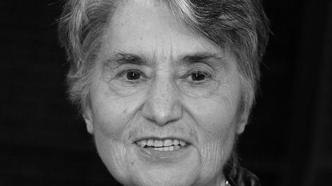 Ruth Klüger schwarz-weiß