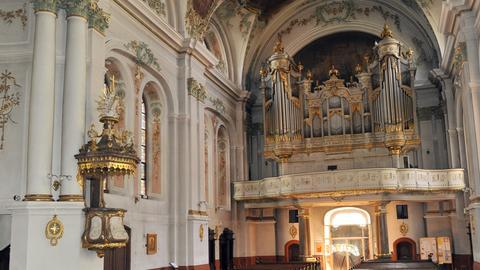 Kirche St. Ignaz, Mainz, mit Orgel von Bernhard Dreymann