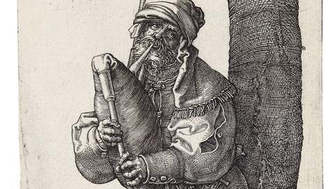 Albrecht Dürer: Dudelsackspieler, 1514