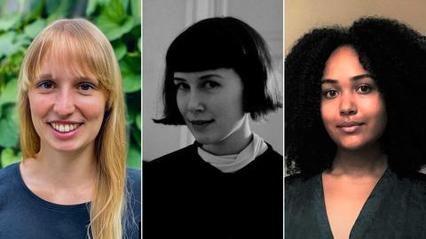 Miriam Emefa Dzah, Jasmin Merkel und Marie Lucienne Verse