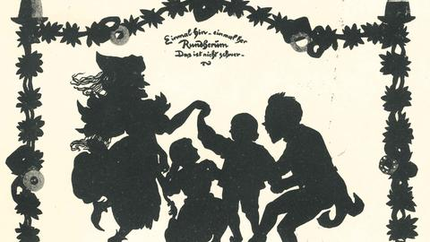 Engelbert Humperdinck tanzt mit Hänsel, Gretel und der Hexe