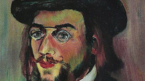 Erik Satie portraitiert von Suzanne Valadon, 1893