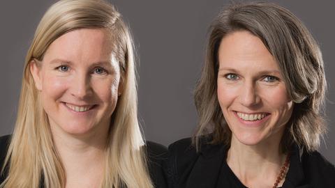 Eva Lange und Carola Unser