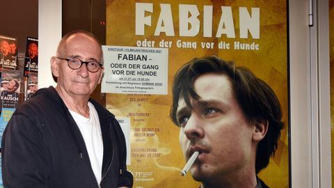 """Regisseur Dominik Graf vor der Ankündigung zu seinem Film """"Fabian"""" mit Tom Schilling"""