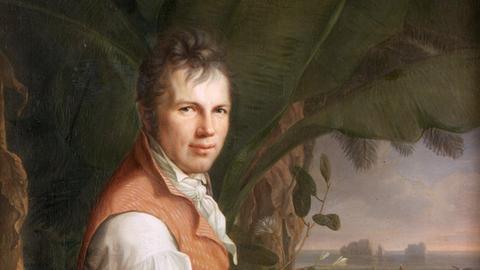 Alexander von Humboldt in Venezuela, Gemälde von Friedrich Georg Weitsch, 1806
