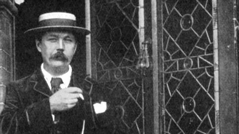 Arthur Conan Doyle, um 1900