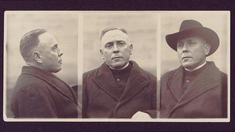 Pfarrer August Wörner  (Gestapo-Foto von 1937)