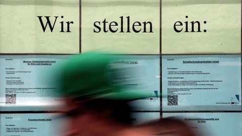 """Arbeitsmarkt """"Wir stellen ein"""""""