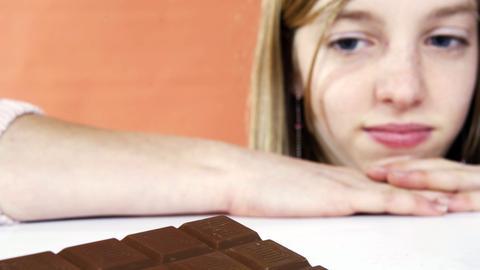 Verzicht auf Schokolade