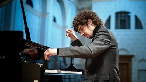 Der Pianist Federico Colli