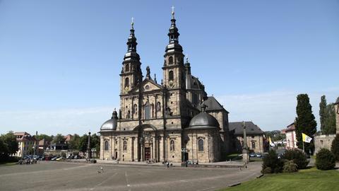 Der Fuldaer Dom St. Salvator zu Fulda