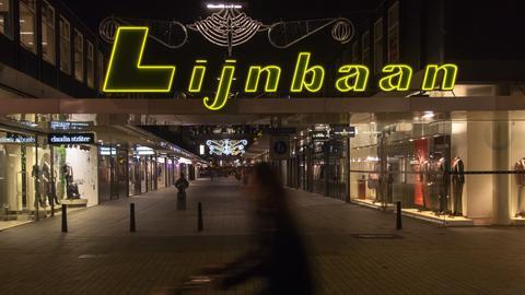 Fußgängerzone Lijnbaan Rotterdam