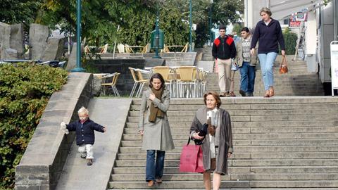 Fußgängerzone Treppenstraße Kassel