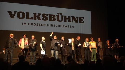Gala der Fliegenden Volksbühne Frankfurt