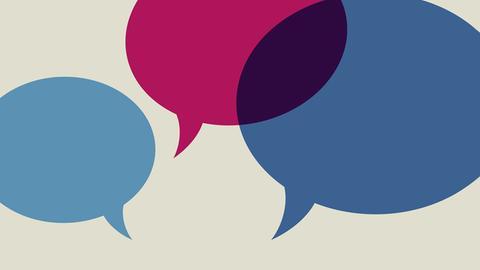 Illustration: Gesprächsblasen