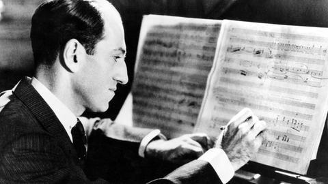 George Gershwin komponiert.