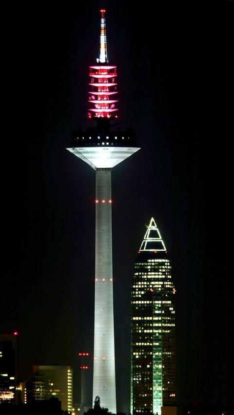 Ginnheimer Spargel Europaturm Messeturm