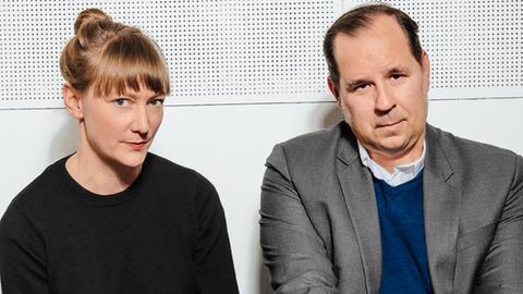 Festivaldirektor Gregor Maria Schubert sowie Stellv. Festivaldirektorin Johanna Süß