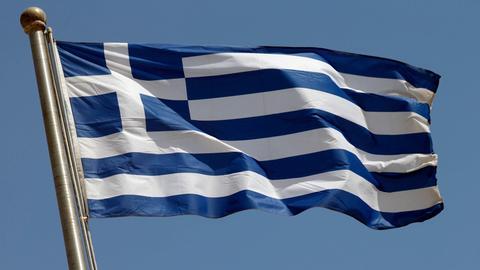 Griechische Nationalflagge