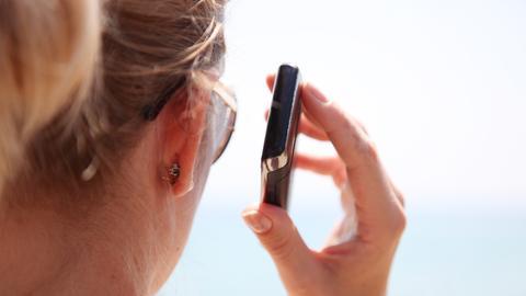 Telefon Handy Abstand