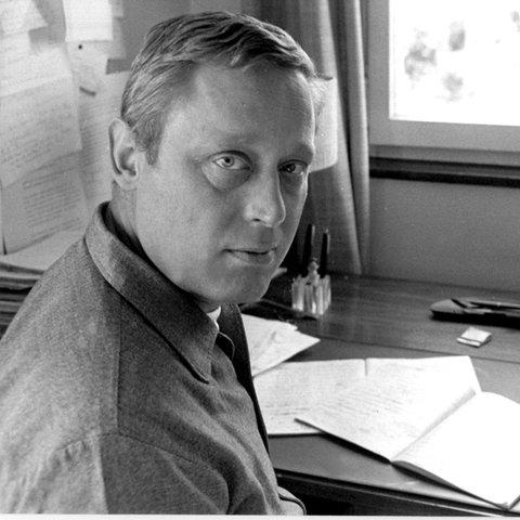 Der Schriftsteller Henry Jaeger am 16. März 1973