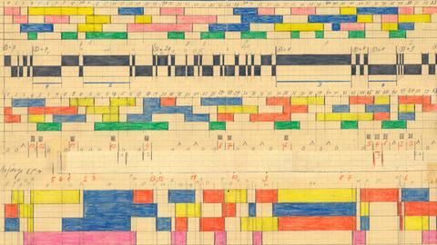 Bei Hermann Meier nahm Musik geometrische Formen an.