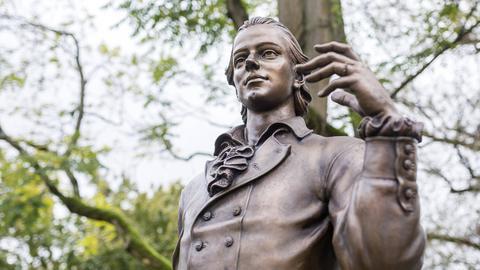 Statue von Friedrich Hölderlin
