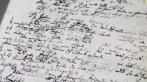 Hölderlin-Handschriften in der Württembergischen Landesbibliothek