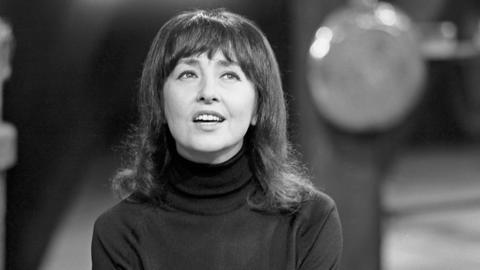 Belina - die jüdische Folk-Sängerin in Hamburg, 1960