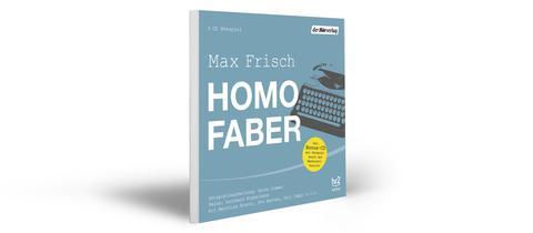 """CD-Cover """"Homo Faber"""": Stilisierte Schreibmaschine"""
