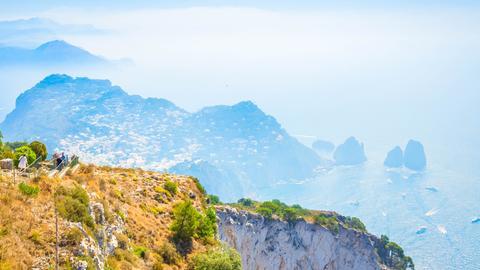 Landschaft auf Capri