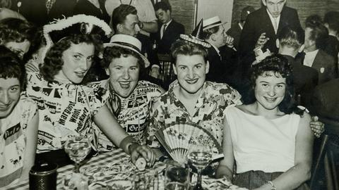 Fasching anno 1955