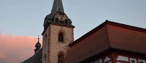 Kirchturm St. Gallus Flörsheim