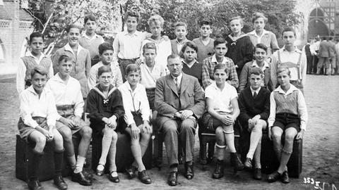 Ein Klassenfoto von 1934