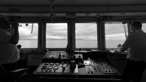 Kommandobrücke Schiff
